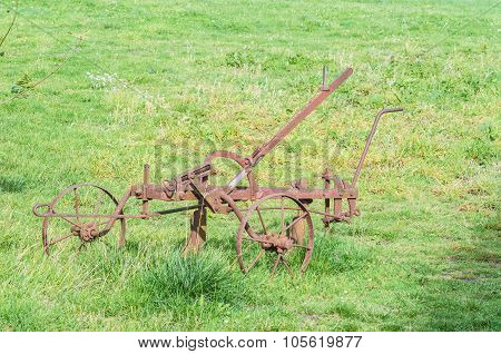 Old Historical Plow