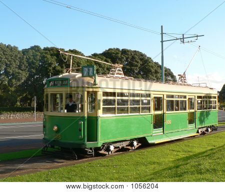Antique Melbourne Tram