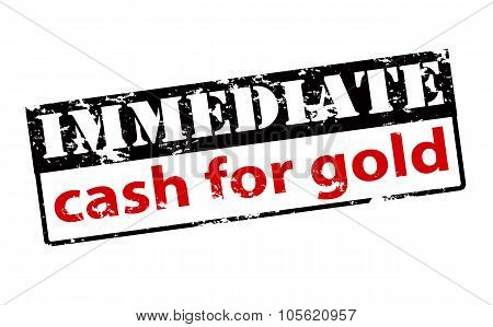 Immediate Cash For Gold