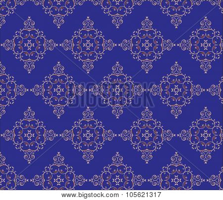 Vintage pattern background with classic ornament.