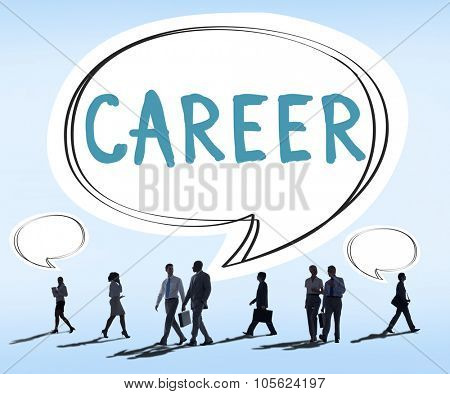 Career Hiring Occupation Profession Job Concept