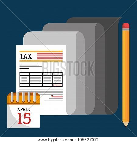 Taxes payday graphic