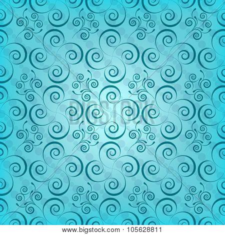 curls  seamless vector