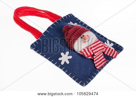 Bag With Snowman