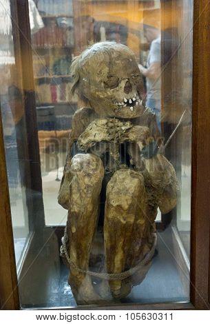 Peruvian Mummies Bodies