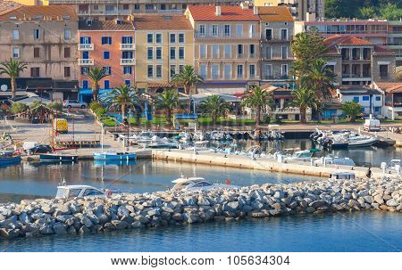 Port Of Propriano, South Region Of Corsica Island
