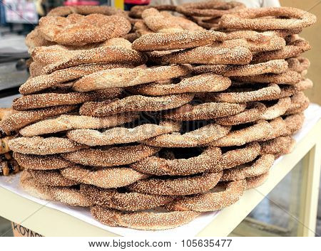 Bagels Sold In The Street