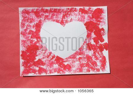 Heart Negative Space