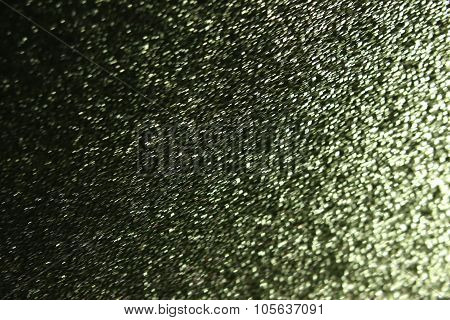 Abstract Light Effects With Motion Blur On A Wet Glass Pane With Water Drops