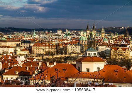 View Of Praque Towers - Prague,czech Republic