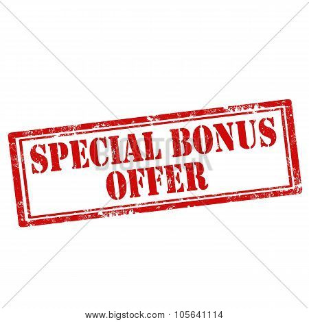 Special Bonus Offer