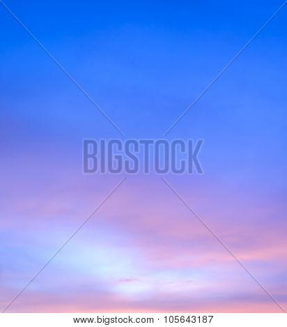 Abstract Twilight Sky Background
