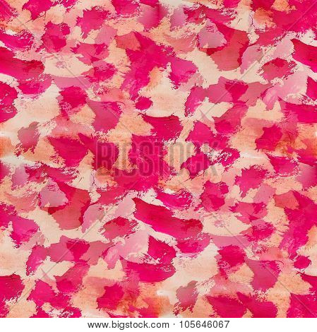 seamless background watercolor red smear brush color water abstract art