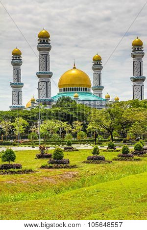 Jame Asr Hassanil Bolkiah Mosque-brunei,asia