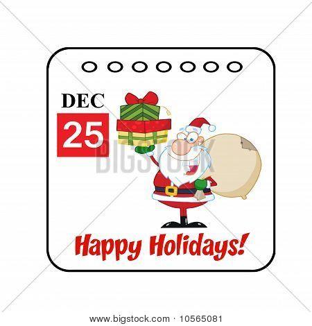 Christmas Holiday Calendar