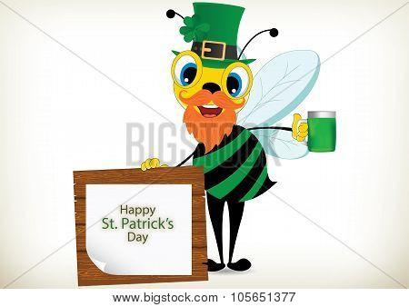 Leprechaun Bee
