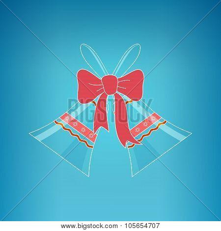Holiday Crystal Glass Jingle Bells