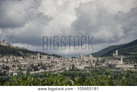Assisi view, Italy