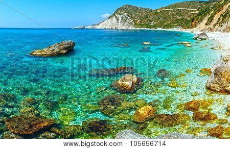 Petani Beach (kefalonia, Greece).