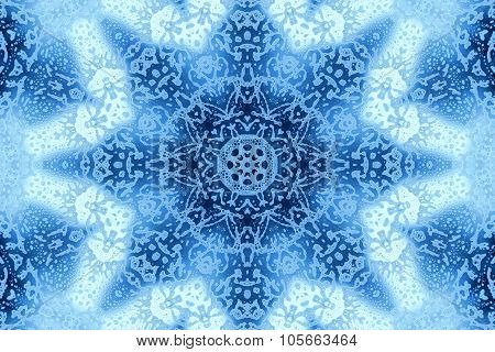 Foam Abstract Concentric Pattern