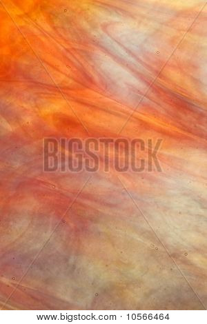 stained glass strawberry orange cream iridescent texture background