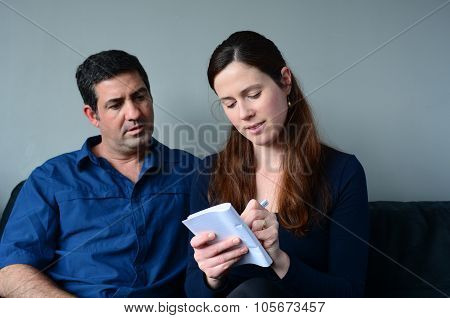 Couple Planning Their Life
