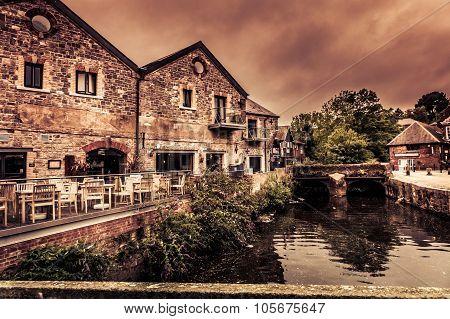 Old Exeter riverside
