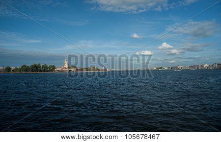 Peter and Paul Fortress  in Saint-Petersburg
