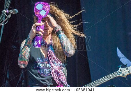 Steel Panther live at Soundwave Festival, Brisbane 2015