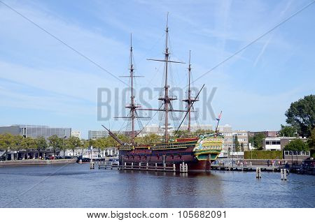 Replica of the Amsterdam