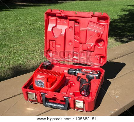 Cordless Drill And Case