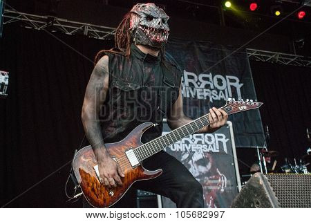 Terror Universal live at Soundwave Festival, Brisbane 2015