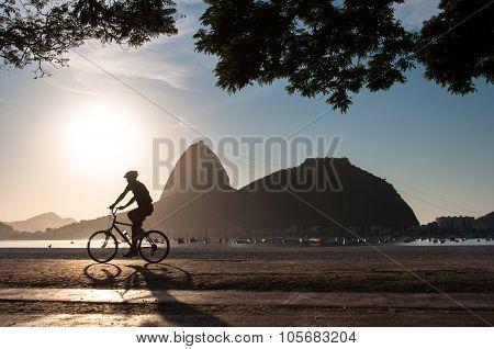 Early Morning Cycling in Rio de Janeiro