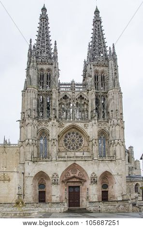 Cathedral of Burgos, Castile, Spain.