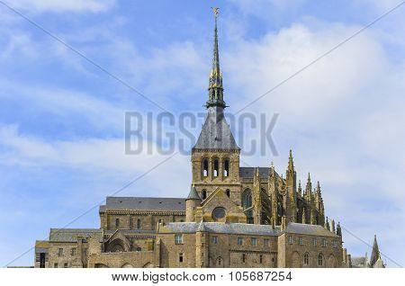 Mont-Saint-Michel , France.