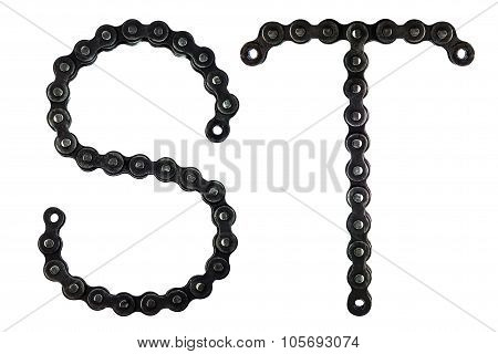 Chain Of Font, S And T