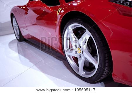 Bangkok - May 20 : Ferrari 458 Italia On Display At Impact Muangthong Thani Exhibitions Hall Event O