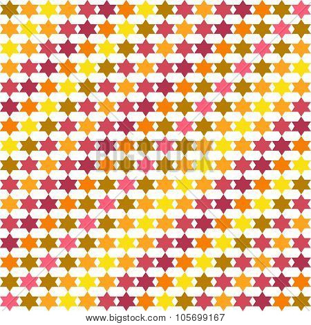 Abstract pattern with stars, background, texture.