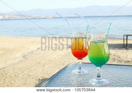 Cocktail by the sea