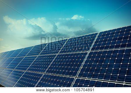 Solar Panels Technology Background