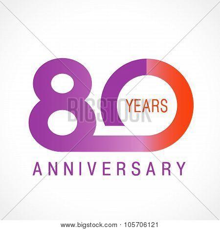80 anniversary classic logo.