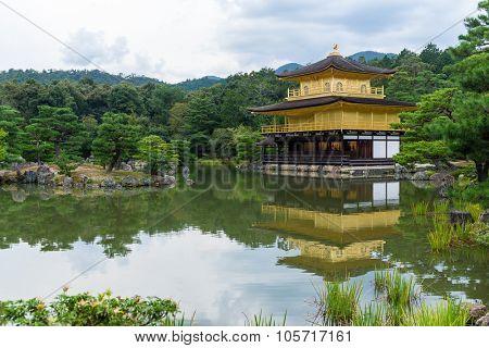 Golden Pavillion in Kyoto Japan