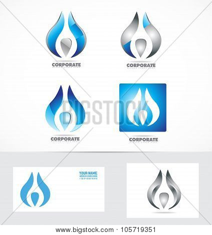 Corporate Business Logo Icon Symbol