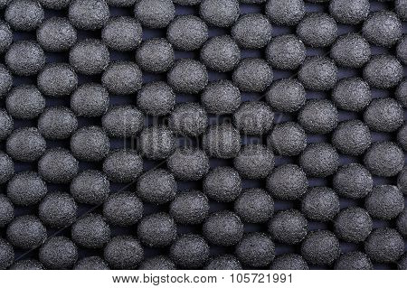 Anti-slip rubber coating background