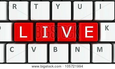 Computer Keyboard Live