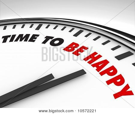Time To Be Happy - Clock