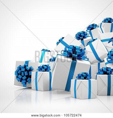 3D - Christmas Presents