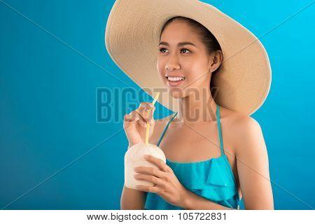 In Sombrero Hat