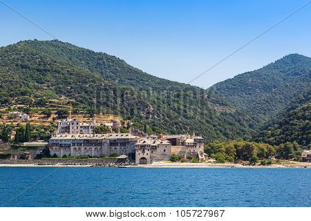 Xenophontos Monastery On Mount Athos