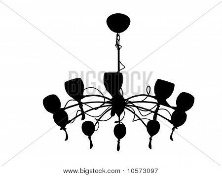 Chandelier With Shades